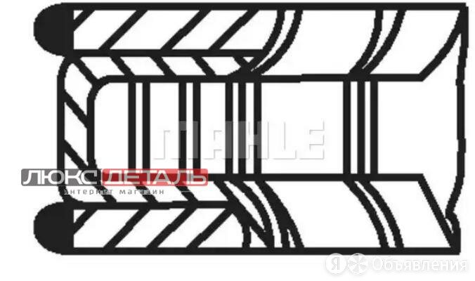 MAHLE 01184N0 011 84 N0_кольца поршневые d72.5x1.2x1.5x2 STD 1\ Opel Astra/Co... по цене 1554₽ - Отопление и кондиционирование , фото 0