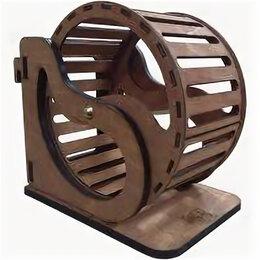 Игрушки и декор  - Колесо подвесное для мелких грызунов 18,5х12х17 см, диаметр 16 см , 0