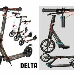 Самокаты - Самокат с ручным тормозом tech team TT delta, 0
