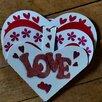 Сердечко валентинка открытка по цене 150₽ - Открытки, фото 1