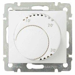 Отопительные системы - Термостат систем отопления Legrand Valena белый 774226, 0