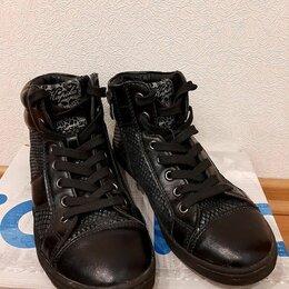 Ботинки - Продам ботинки для девочки Kapika, размер 34, 0