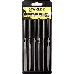 Напильники и надфили - Набор из 6-ти надфилей 150мм Stanley 0-22-500, 0
