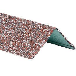 Отделочный профиль, уголки - Уголок внешний металлический HAUBERK Мраморный 50*50*1250мм, 0