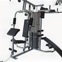 Тренажеры со встроенными и свободными весами - Силовой комплекс DFC D7005A, 0