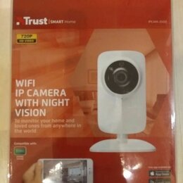 Камеры видеонаблюдения - Trust wifi (ipcam-2000), 0