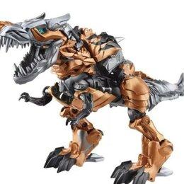 Роботы и трансформеры - Трансформер Динозавр автобот Гримлок 70 см, 0