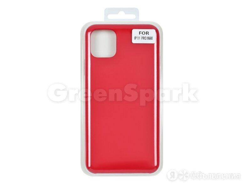 Накладка Vixion для iPhone 11 Pro Max (красный) по цене 300₽ - Чехлы, фото 0