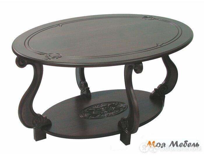 Стол журнальный Овация М в цвете Темно-коричневый по цене 14300₽ - Столы и столики, фото 0