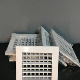 Вентиляция - Вентиляционная решетка металлическая, 0