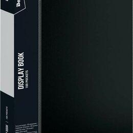 Папки и системы архивации - Папка со 100 вклад. Berlingo «Standard» 30мм 80мкм чёрная, 2454, 0