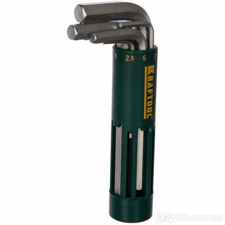 Имбусовые короткие ключи Kraftool 27430-1_z01 по цене 629₽ - Другое, фото 0