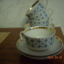 Кружки, блюдца и пары - Чайная пара из СССР, 0