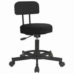 Кресла и стулья - Кресло РС12, без подлокотников, кожзам, черное, РС01.00.12-201-, 0