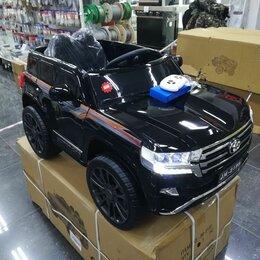 Электромобили - Детский электромобиль toyota land cruiser 200, 0