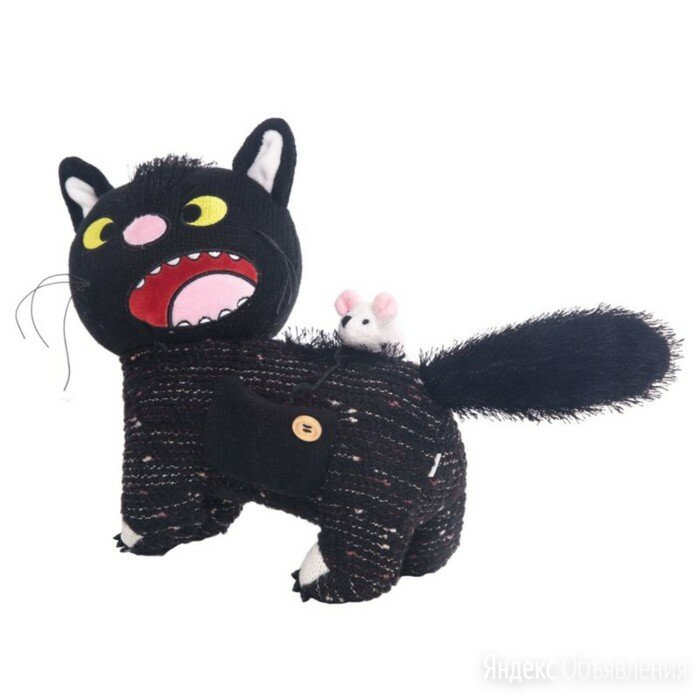 Мягкая игрушка «Кот дурашка», 23 см по цене 1996₽ - Мягкие игрушки, фото 0