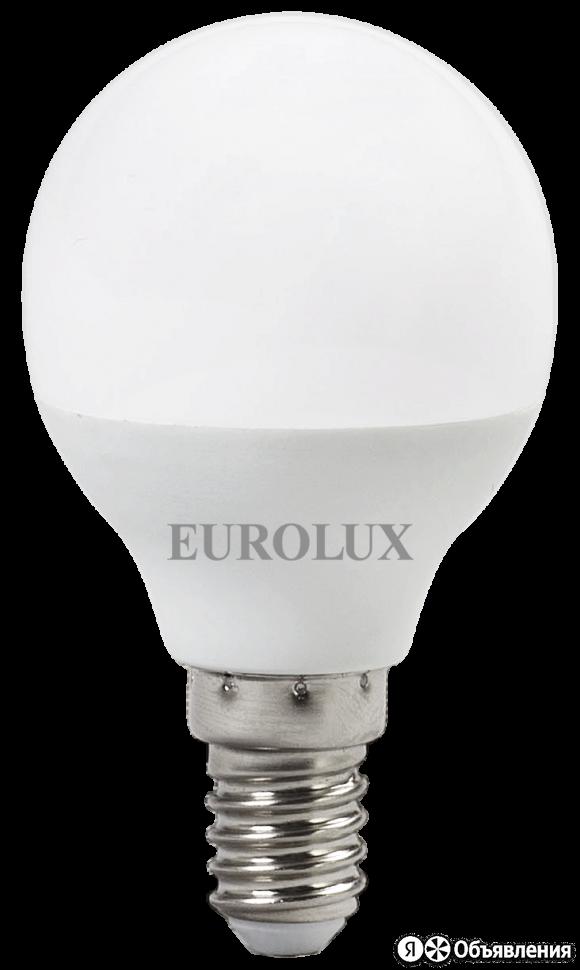 Лампа светодиодная EUROLUX LL-E-G45-7W-230-2,7K-E14 по цене 59₽ - Лампочки, фото 0