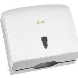 Мыльницы, стаканы и дозаторы - Диспенсер для листовых бумажных полотенец VIALLI K40, 0
