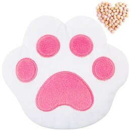 Развивающие игрушки - Развивающая игрушка-грелка 'Лапа', бело-розовая, 0