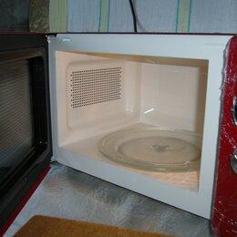 Микроволновые печи - Микроволновая печь  красная, 0