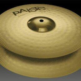 """Тарелки - 0000144014 101 Paiste Brass Hi-Hat Две тарелки 14"""", 0"""