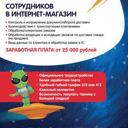 Консультанты - Оператор интернет-магазина, 0