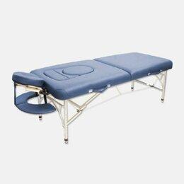 Массажные столы и стулья - Складной массажный стол синий, бордовый/ Массажная кушетка/Стол для массажа , 0