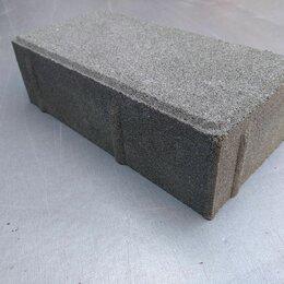 Тротуарная плитка, бордюр - Тротуарная плитка кирпич брусчатка 200х100, 0