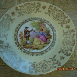 "Посуда - Коллекционная тарелка марки ""Бавария""., 0"