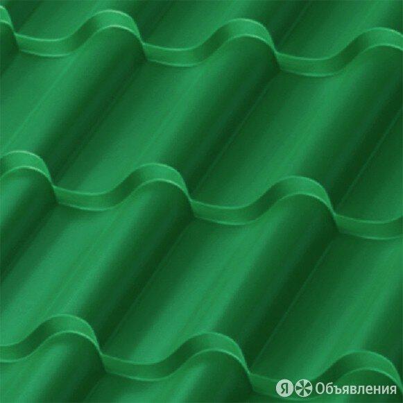 Металлочерепица Монтерроса NORMAN Зеленый лист (RAL 6002) толщина 0,50 мм  по цене 1059₽ - Кровля и водосток, фото 0
