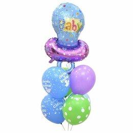 Воздушные шары - Букет гелиевых шаров Спасибо за сына, 0