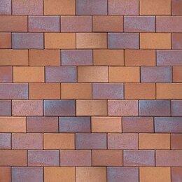 Тротуарная плитка, бордюр - Клинкерная брусчатка Herbstlaub geflamt 0933 (200х100х45), 0