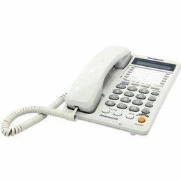 Проводные телефоны - Телефон Panasonic KX-TS2368RUW, 0