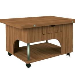 """Столы и столики - Стол-трансформер """"Стэп"""" дуб сакраменто, 0"""