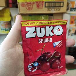 Ингредиенты для приготовления напитков - Растворимый напиток Zuko со вкусом вишни (Чили) 25 гр., 0