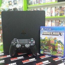 Игровые приставки - Комплект: PlayStation 4 1Tb+ Minecraft, 0