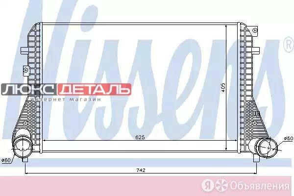 NISSENS 96542 Интеркулер VW CC 2.0 TFSI 11-  по цене 16409₽ - Двигатель и топливная система , фото 0