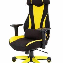 Компьютерные кресла - Кресло геймерское CHAIRMAN GAME 14, экопремиум черный/желтый, 0