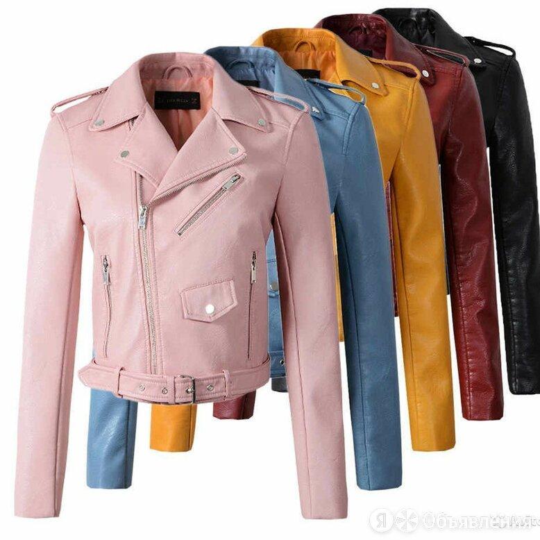 Куртка кожаная женская по цене 4500₽ - Куртки, фото 0