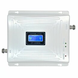 Антенны и усилители сигнала - GSM усилитель, репитер GSM01 (4G-800/1800) - 5950p, 0