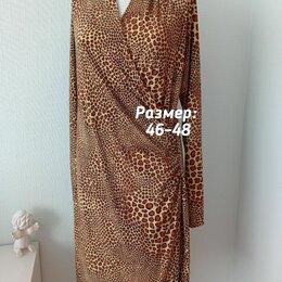 Платья - Платье леопардовое, 0