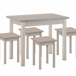 """Столы и столики - Обеденная группа """"Прямая нога"""" №2, 0"""