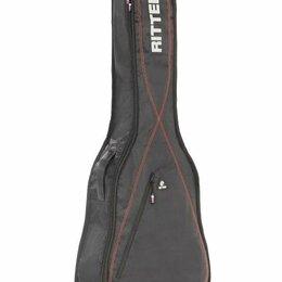 Аксессуары и комплектующие - Чехол для бас-гитары Ritter RGP2-B/BRD, 0