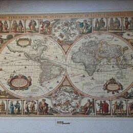"""Пазлы - Пазлы """"puzzle"""" 2000 штук """"Историческая карта мира"""", 0"""