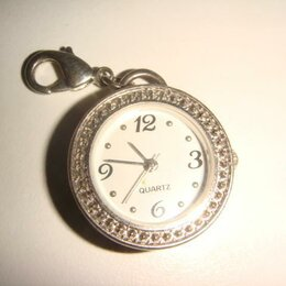 Карманные часы - Подвеска часы кварцевые винтаж, 0