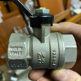 Краны для воды - Кран шаровый DN 25, 0