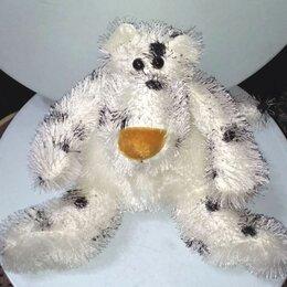Мягкие игрушки - Забавный белый медведь-далматинец, 0