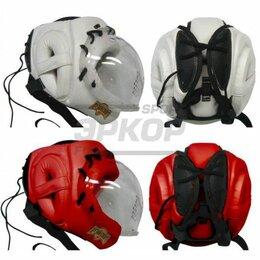 Спортивная защита - Шлем для единоборств Рэй-Спорт Кристалл-2 прозрачная маска на шнуровке натур кож, 0