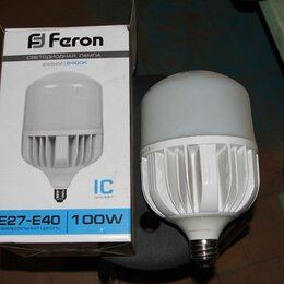 Лампочки - Лампа светодиодная feron lb-65 e27-e40 100w 6400k 25827, 0