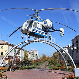 Вертолеты - Вертолет Ка-26 на постамент «под ключ», 0